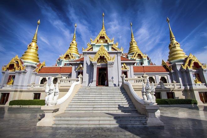 temples sacrés bangkok songkran
