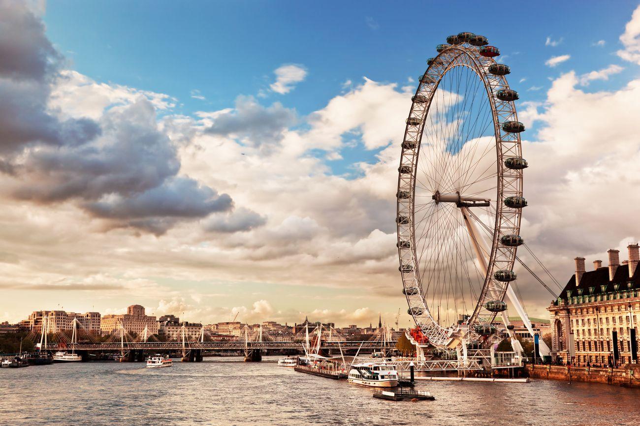 The London Eye – London, UK