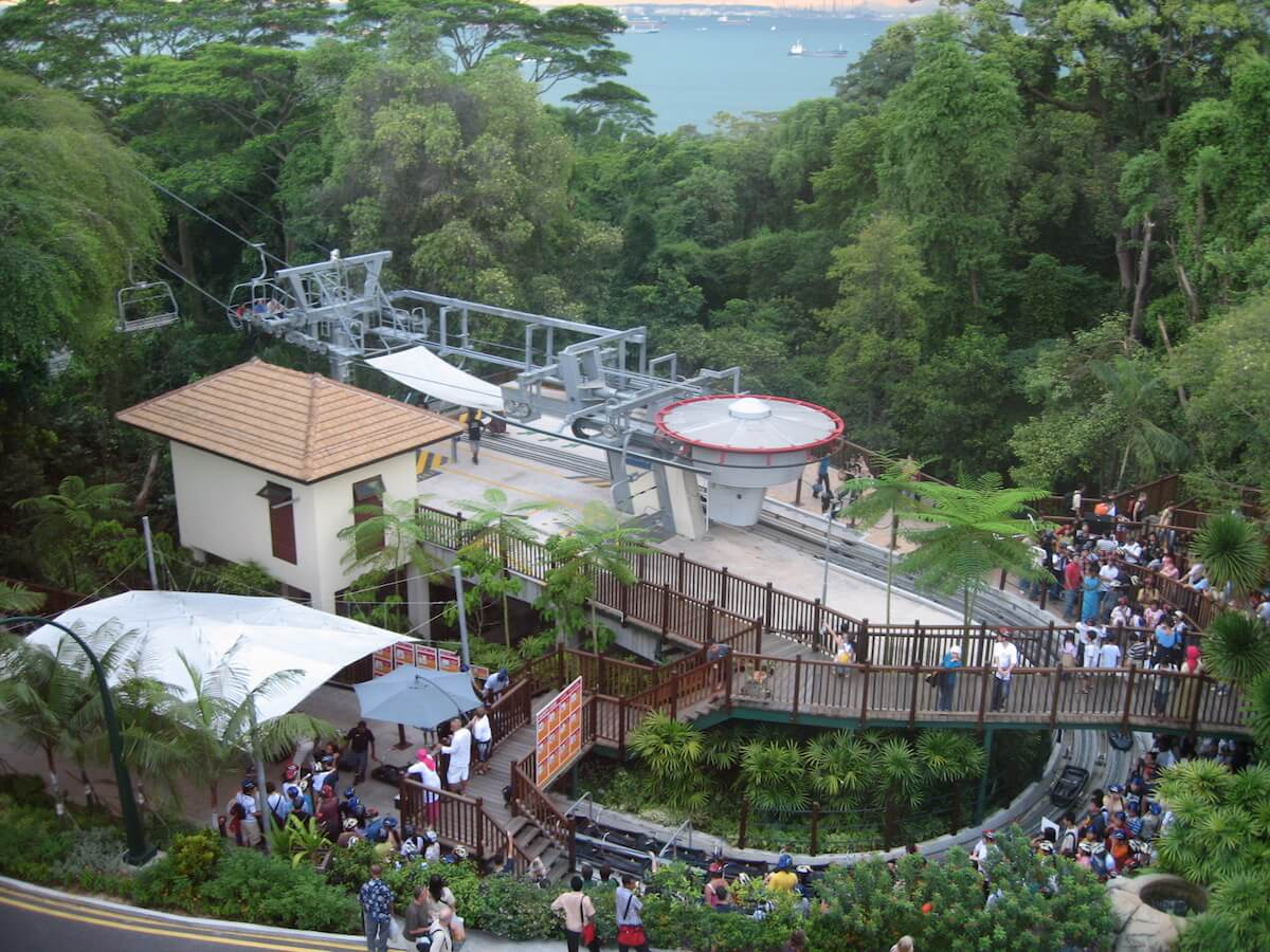 The Sentosa Luge & Skyline. Source: Terence Ong