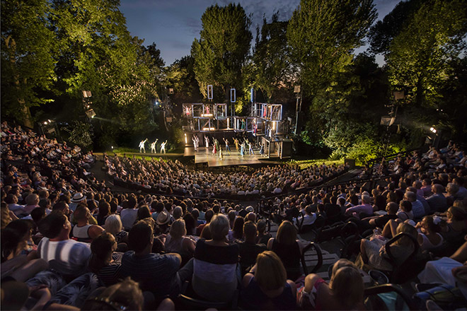Theatre regents park londres