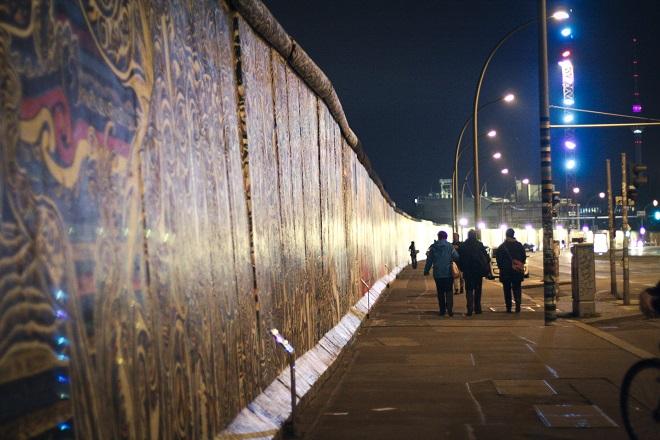 Paseo por el el Muro de Berlín