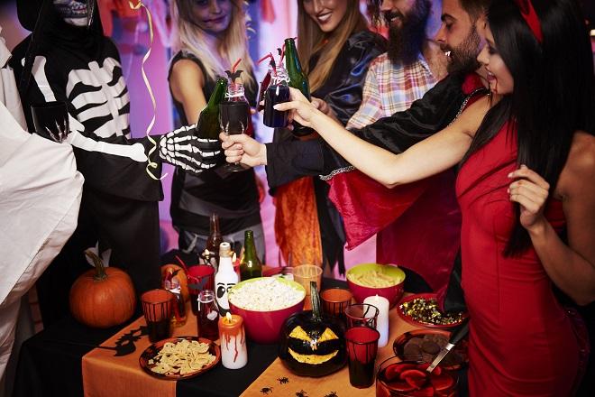 La mística fiesta de hallowen en The Grand