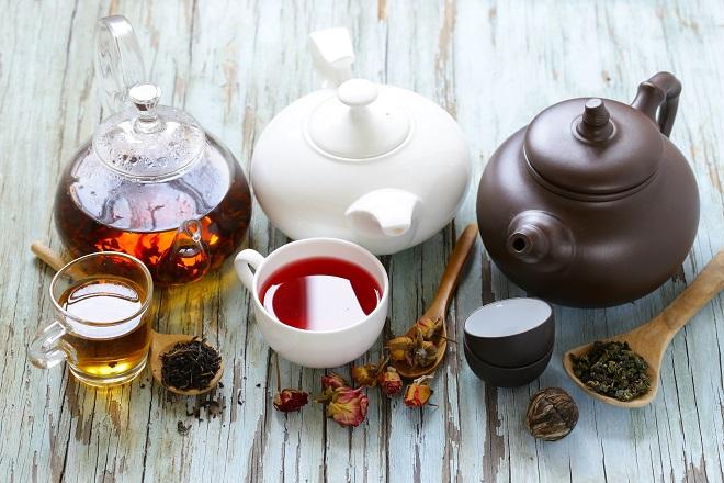 Variedades de tés