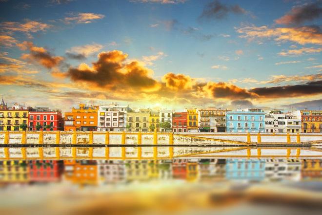 Le sponde del fiume Guadalquivir, Siviglia