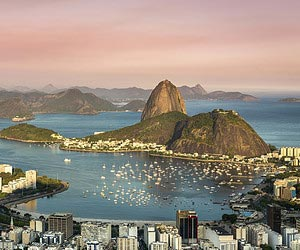Infographic: Starting point, Rio de Janeiro!