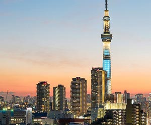 Die japanische Architektur fotografieren