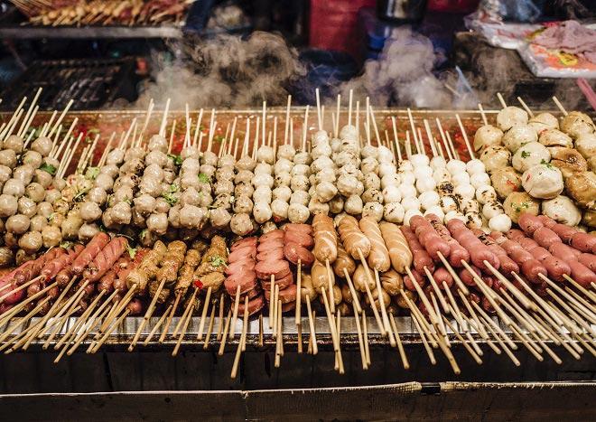 Köstlichkeiten Singapur