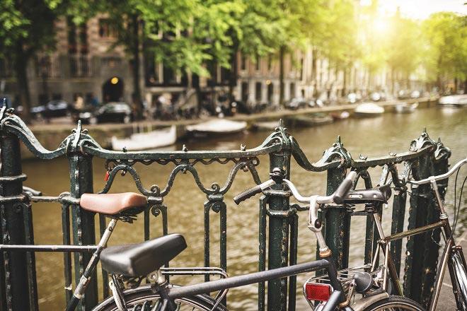 Romantische Note Amsterdam