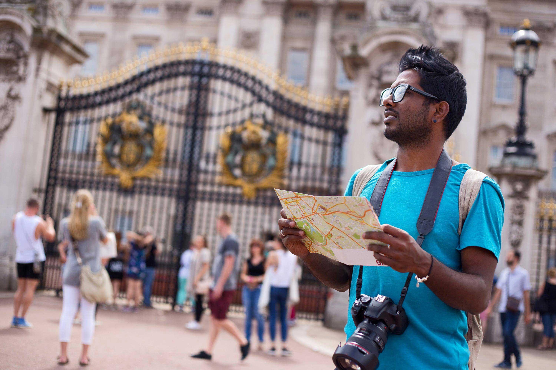 Turista a Londra