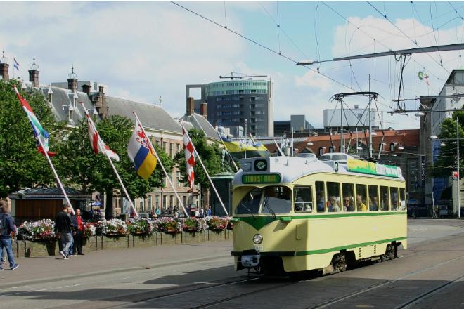tourist tram scheveningen