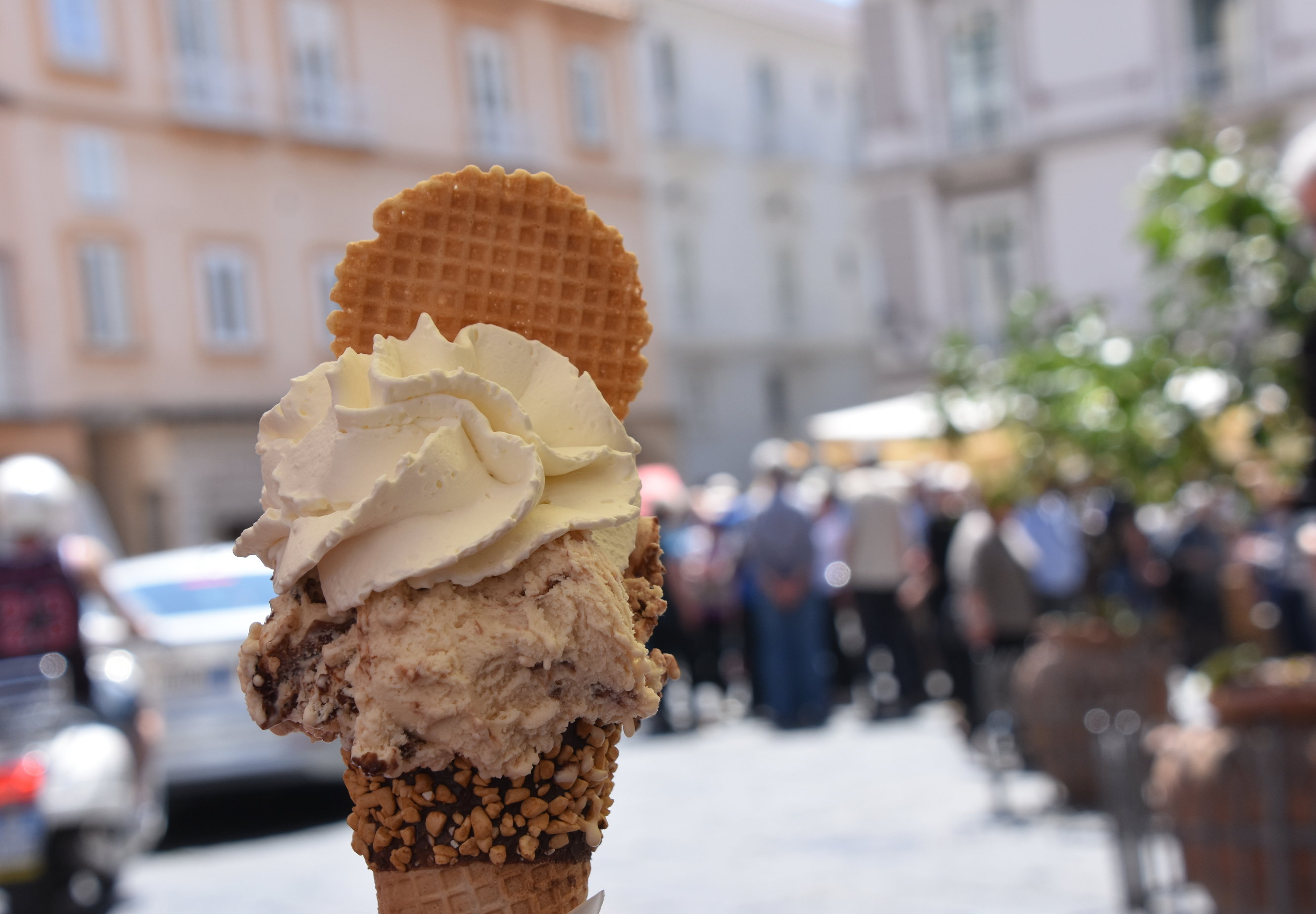 ice cream streets of italy