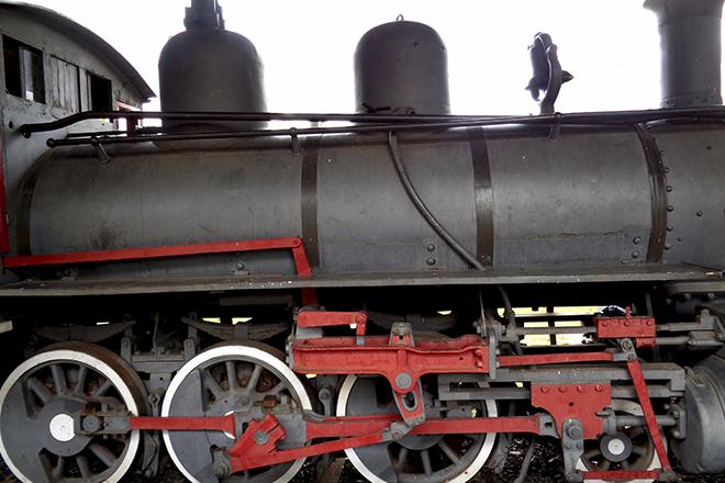 Trem na Estação de Jaguariúna