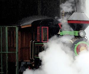 Um passeio de trem Maria-Fumaça em Campinas