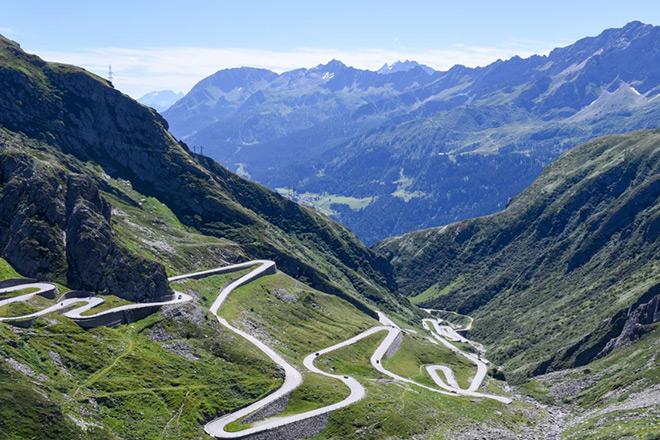Eisenbahntunnel Gotthard