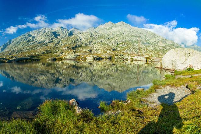 Landschaft Gotthard