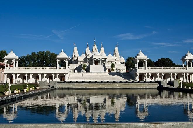temple hindou BAPS Shri Swaminarayan Mandir
