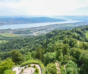 Dans les cieux de Zurich