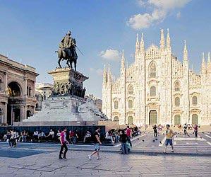 Infographie Milan