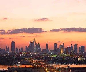 Infographie Dubaï