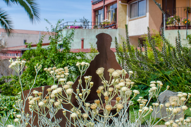 Estatua de Pablo Neruda (Fotos: Getty Images)