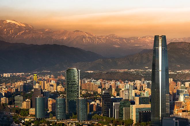 Vista panorâmica de Santiago (Foto: Getty Images)