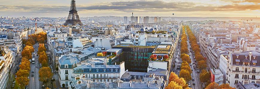 Toda la historia de París en una panorámica