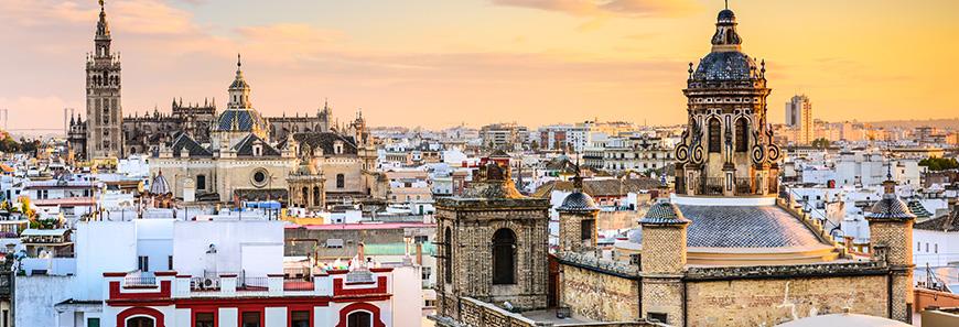 preciosas vistas de Sevilla