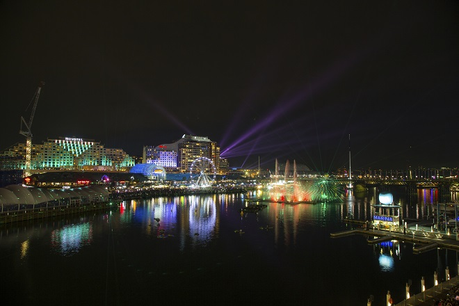The highlight of Vivid Sydney is the Sydney Opera House
