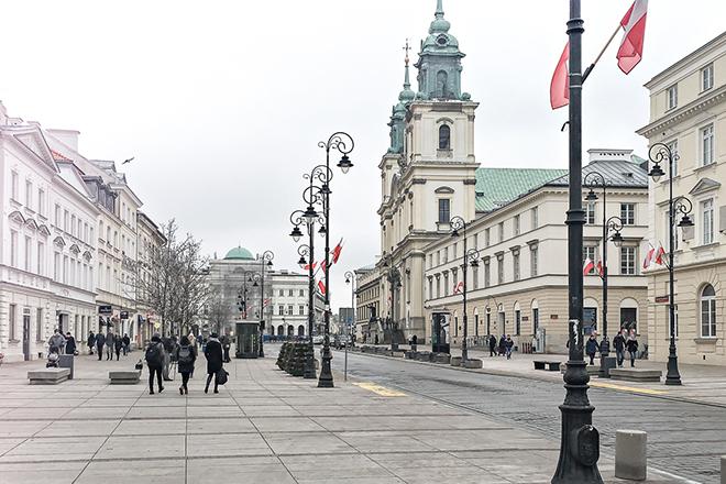 Nowy Świat/Warschau