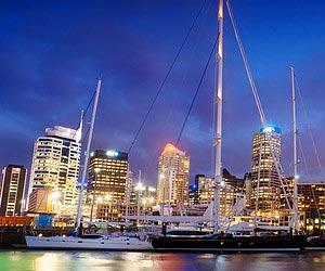 Ein Feuerwerk erleben in Auckland