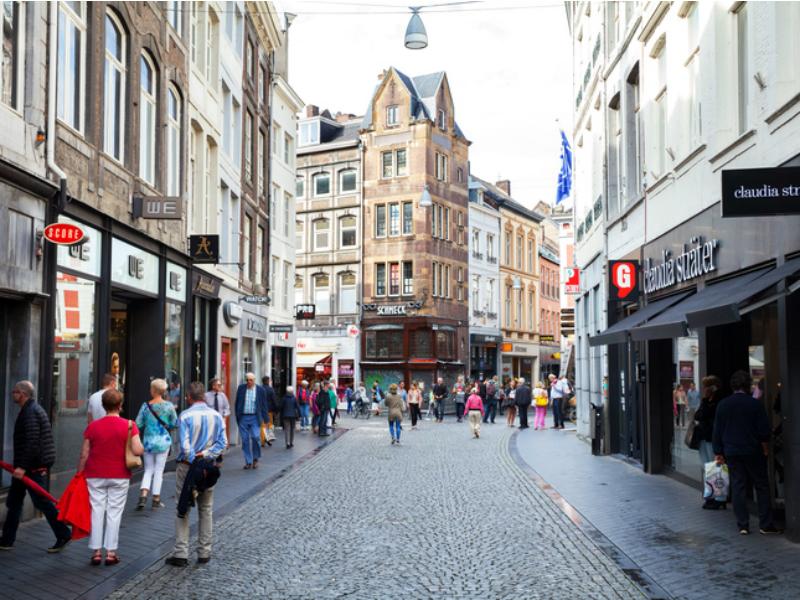 Kleine Straat in Maastricht
