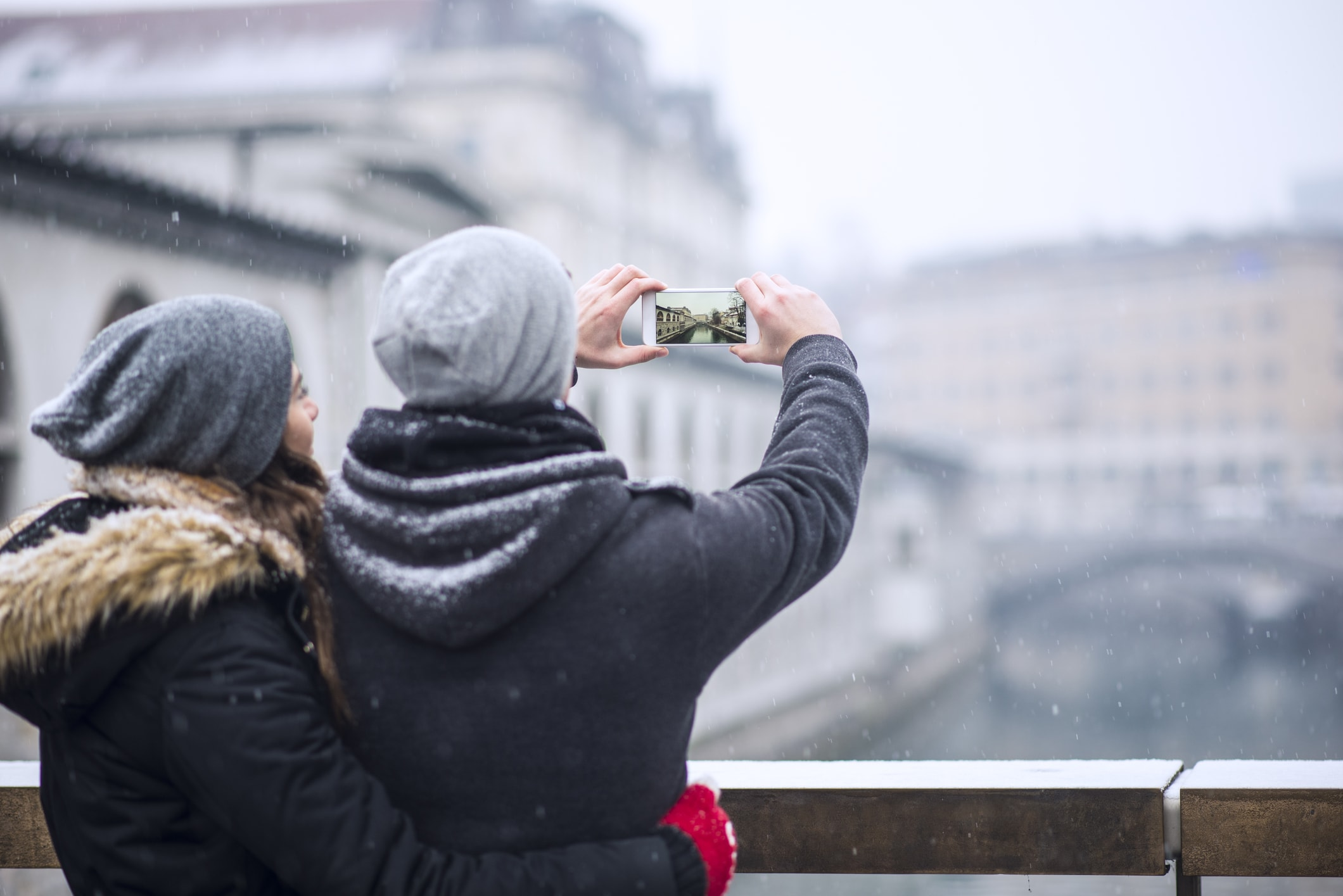 Un city-trip en hiver