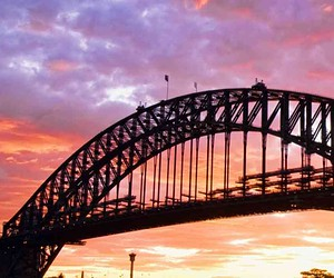 Take in the views of Sydney