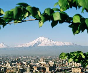 Весенний Ереван