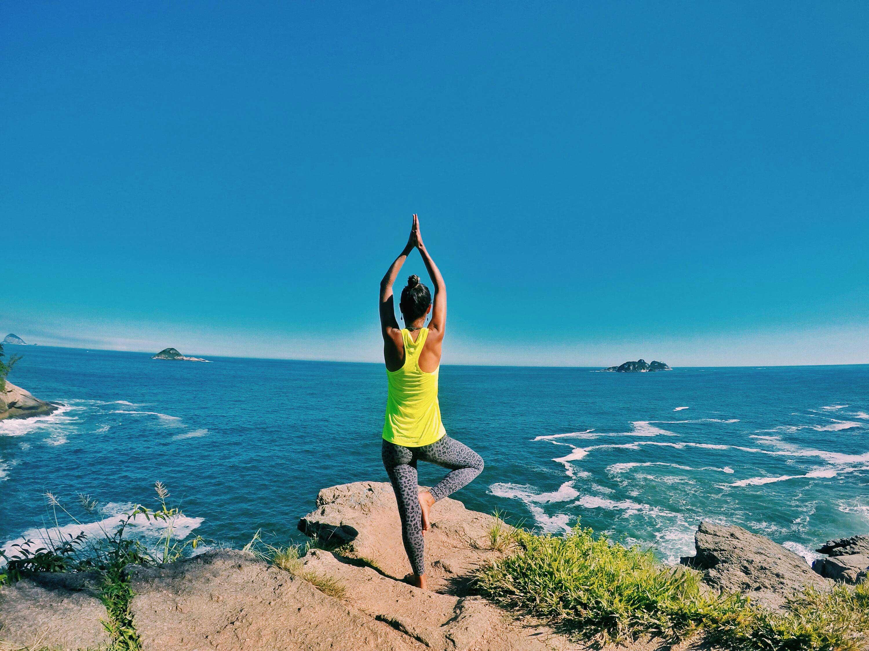 Yoga plage Joatinga Rio de Janeiro
