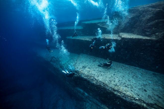 Yonaguni, un monumento bajo las aguas