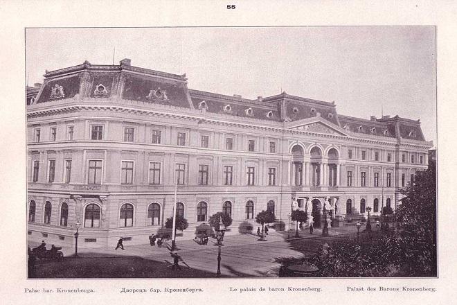 Pałac Kronenberga (zdj. ze zbiorów P. Stala)
