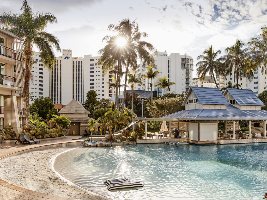 Please Note:  from June 11 2018 we will be embarking on a multi million dollar renovation project which will completely transform our guest room product and many of our public spaces. Novotel Cairns Oasis is set to become a showcase of modern sophistication whilst echoing the  surrounds of Tropical North Queensland. The stunning lagoon & pool bar area will remain untouched and all design transformation works will be carried out with the greatest care to ensure that your stay will not be disrupted.