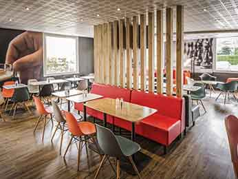 restaurante caf bar no hotel ibis limoges nord em limoges. Black Bedroom Furniture Sets. Home Design Ideas