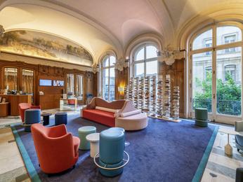 Hotel Mercure Lyon Centre Château Perrache Lyon