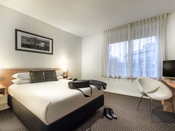 Las habitaciones - ibis Melbourne Hotel and Apartments