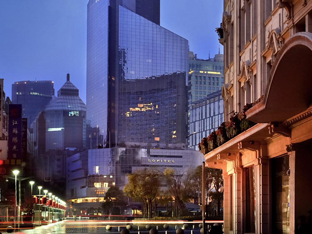 H tel centre shanghai sofitel shanghai hyland accorhotels for Aparthotel londres centre