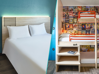 Hotel in paris hotelf1 paris porte de montmartre for Booking formule 1