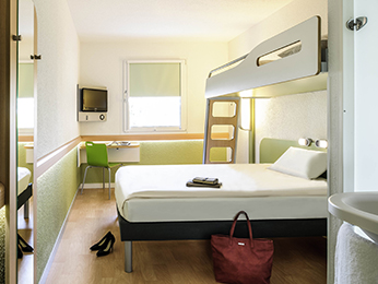 Rooms - ibis budget Deauville