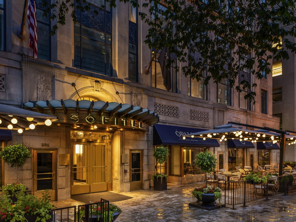 "Recently inducted into the Historic Hotels of America and awarded a gold badge for Top 10 Best Hotels in 2018 by U.S. News & World Report, Sofitel Washington DC Lafayette Square represents one of the most exclusive locations in the nation's capital. Discover this contemporary downtown hotel just minutes from the White House and adjacent to Lafayette Square.  Celebrate Sofitel's ""art de vivre"" within this 4-star hotel - marked by distinctive style, superb cuisine, and incomparable service."