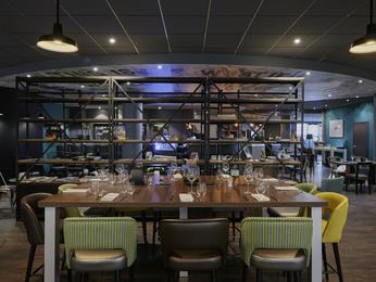 Restaurant caf en bar in novotel parijs porte d 39 italie - Restaurant porte d italie sarreguemines ...
