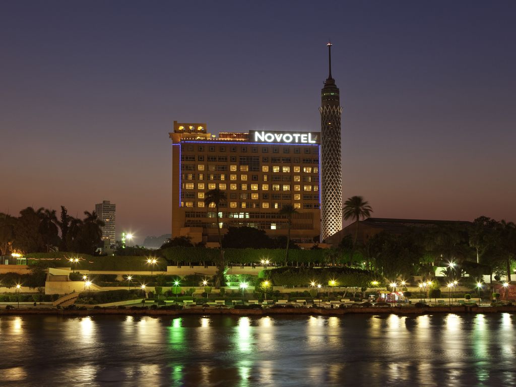Novotel Cairo El Borg is a contemporary 4-star hotel with panoramic views over the Nile. Centrally located, the hotel is within walking distance of the Opera House and Egyptian Museum. After immersing yourself in Egyptian culture with a visit to the iconic Pyramids and the Sphinx, cool down in the pool or relax with a massage at Novotel.
