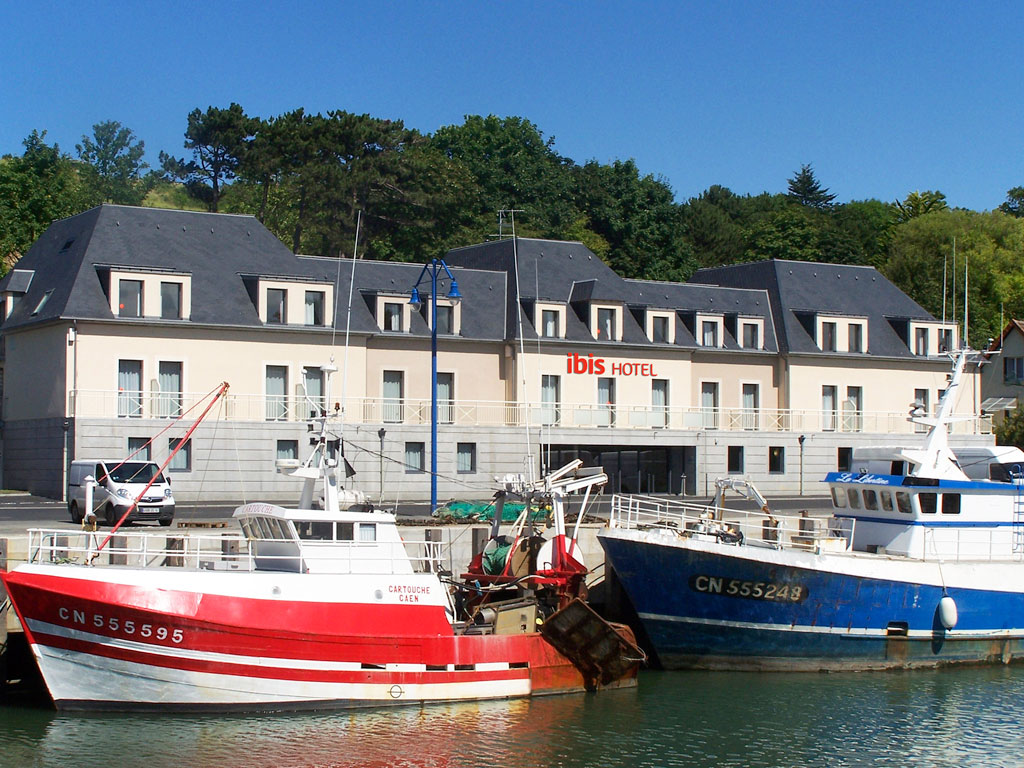 H tel de la marine port en bessin viamichelin - Restaurant fleur de sel port en bessin ...