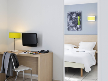 Chambres - Aparthotel Adagio Access Nice Magnan