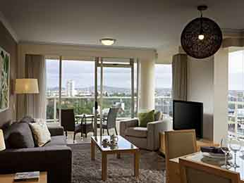 Rooms - Quay West Suites Brisbane